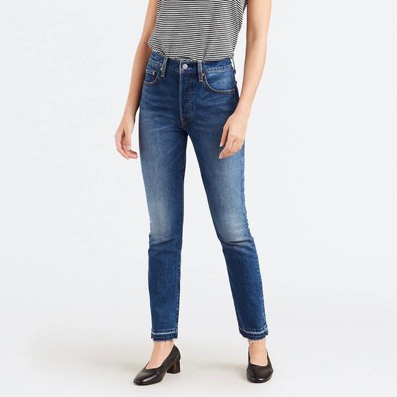 eb789f8a Levi's Pants | Levis 501 Skinny Jeans Size 24 32 L | Poshmark